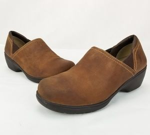 LL BEAN CLOGS SLIP ON MULES WOMENS SIZE 8 USA WIDT